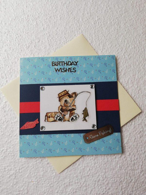 'Gone Fishing' Birthday Card - IMG 20200604 123557 BURST001 COVER scaled e1591281362633