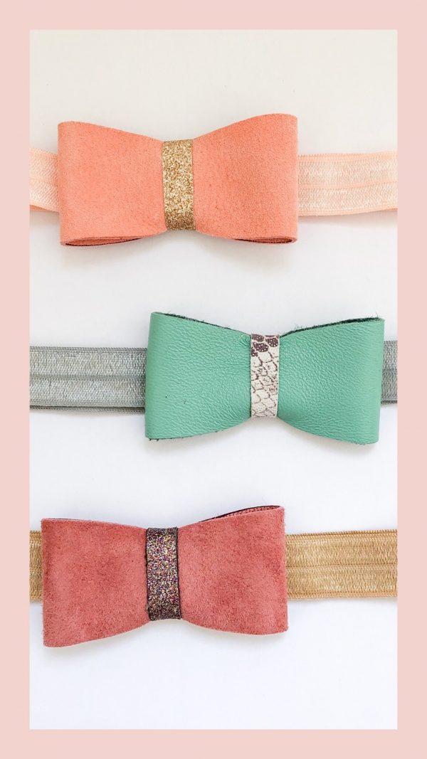 folded single bow