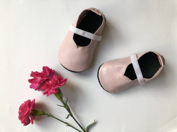 Leather Baby Ballerina Shoes