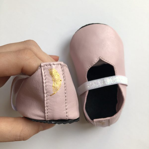 Leather Baby Ballerina Shoes - IMG 5868 scaled