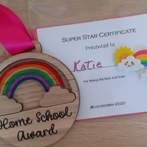 Home School Award Medal & Certificate