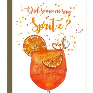 Did Some Say Spritz?