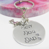 Best Dog Dad Keyring