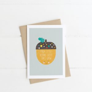 Little Acorns Card
