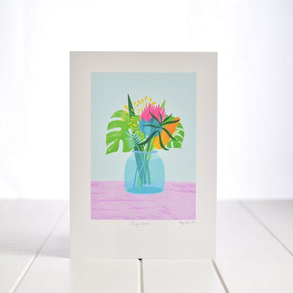 A4 Art Print - Fynbos - A4 Fynbos