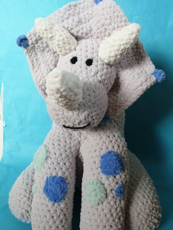 Grey Dinosaur Teddy - IMG 20200330 1649043689 scaled