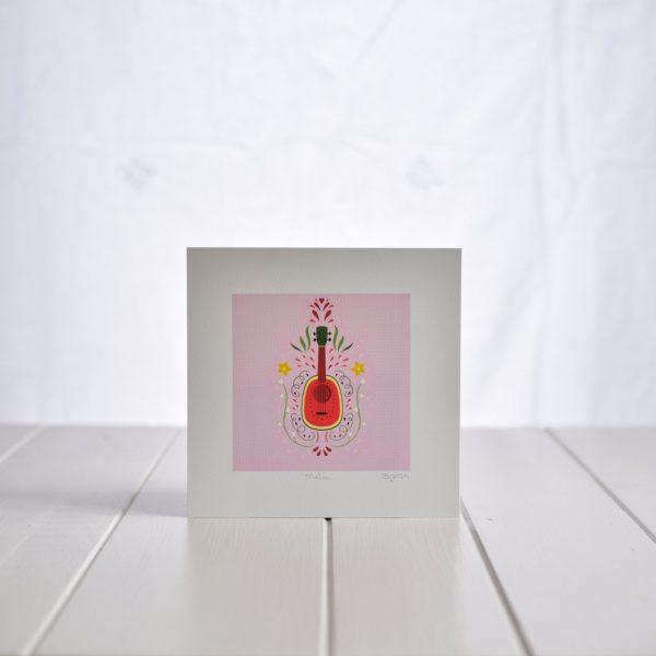 Fleur & Mimi Art Prints - Melon Ukulele