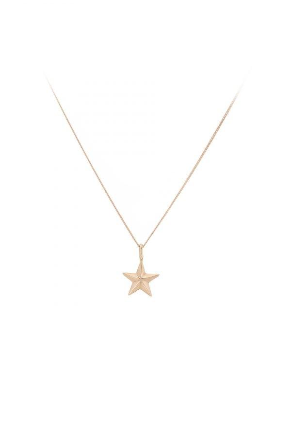Vega Star Rose Gold Necklace
