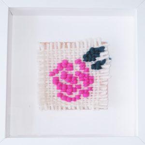 Cross Stitch Rose Weave