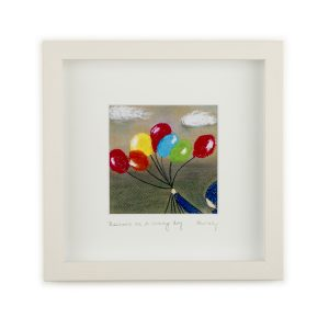 Balloons on a Grey Day