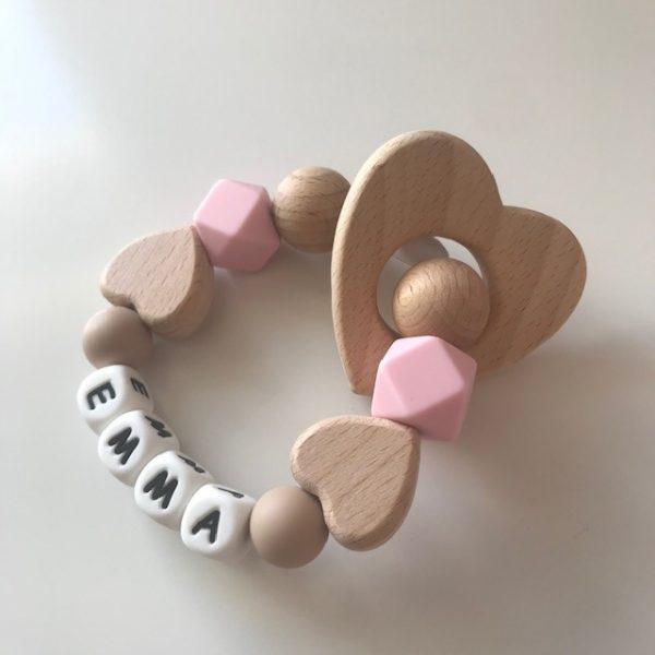 Heart Teether - Heart Teether2 rotated