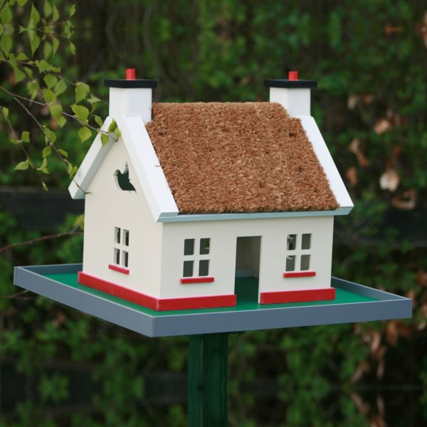 Irish Thatch Cottage Birdhouse - thatch cottage 1