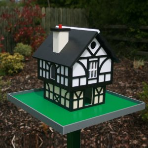 Tudor Cottage Birdhouse