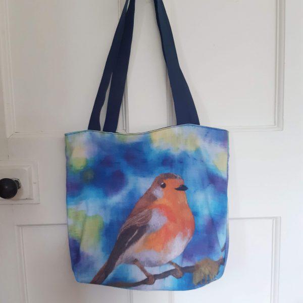 Robin Eco Cotton Tote Bag - 20200901 154305 scaled