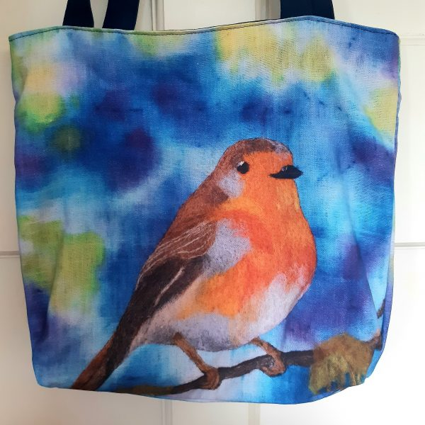 Robin Eco Cotton Tote Bag - 20200901 154348 scaled