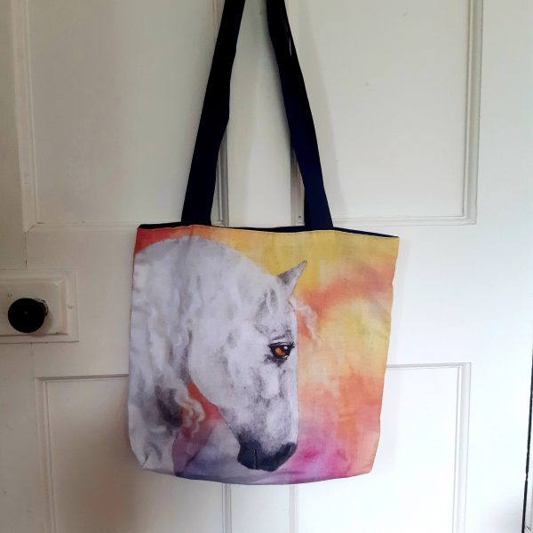 Enbarr Horse of Irish Legend - Eco Cotton Tote Bag - 20200901 154539 scaled