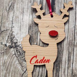 Hanging Reindeer Decoration