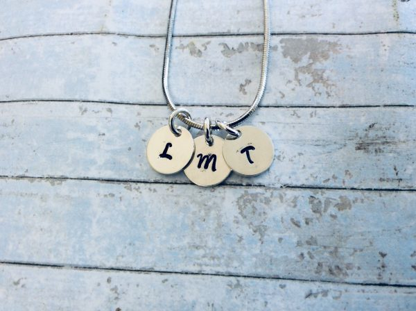 Dainty Tiny Silver Initials Necklace - 2F1D9BF8 E9F5 40E0 A8A4 61E78BC7C952 scaled