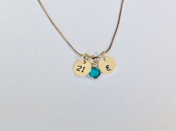 Silver Birthday Necklace - 366F678B CFC7 4018 A831 605DE616AC8B scaled