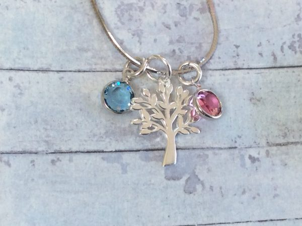 Tree of Life Birthstones Necklace - 4F94C716 0459 4A3D 95BE 9B4198A6B647 scaled