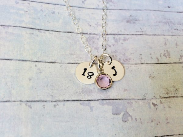 Silver Birthday Necklace - CC6E99C9 2C9E 4B8E 9392 723E302BBC52 scaled