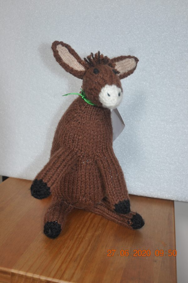 Padraig the Donkey Stuffed Toy - DSC 0338 scaled