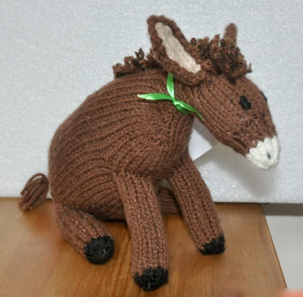 Padraig the Donkey Stuffed Toy - DSC 0340