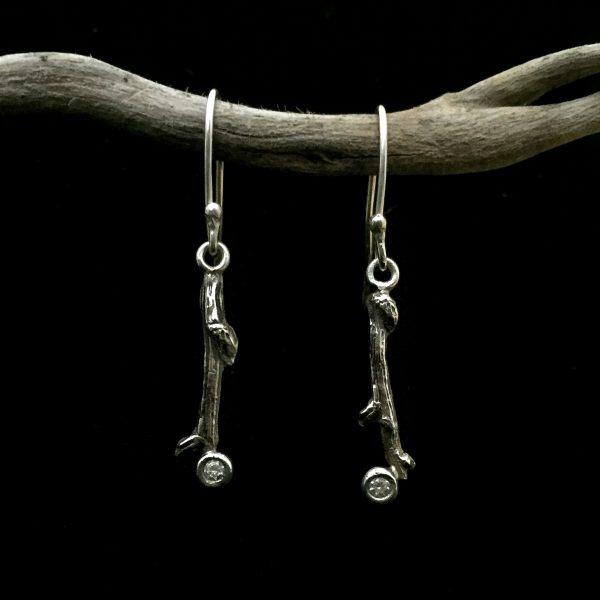 Icy drops earrings