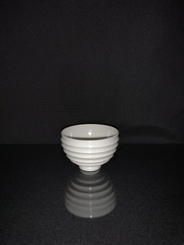 Ridged Porcelain Nightlight Holder - IMG 0490 scaled