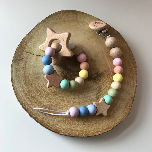 Rainbow Baby Star Set