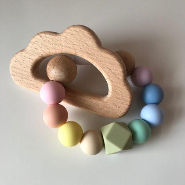 Rainbow Baby Cloud Teether
