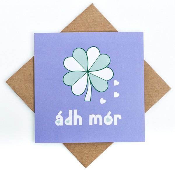 Good Luck Print Card