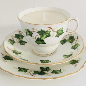 Teacup Candle - Ivy Colclough Fine Bone China