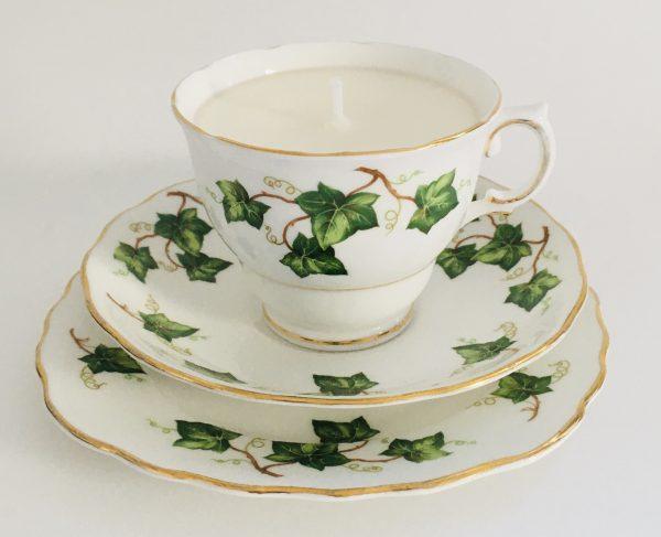 Teacup Candle - Ivy Colclough Fine Bone China - 024E95CE D8C9 4B66 8976 E974B4CD80BA
