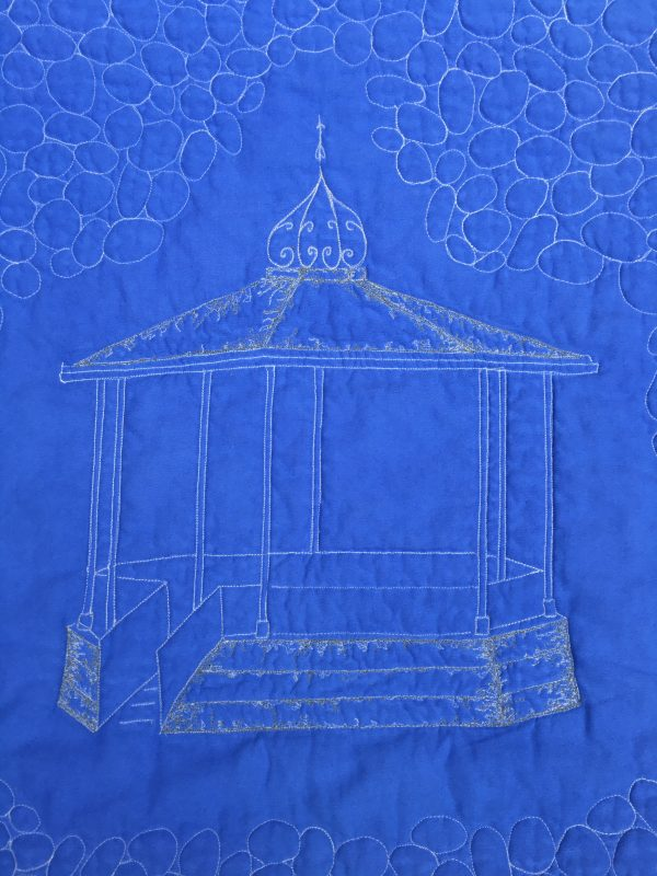 Blue Bandstand Baby Quilt / Play Mat - 0CD44578 8793 4712 82FB 5B01445210B1 1 201 a