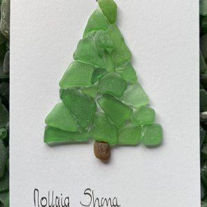 Set of 6 Irish language Christmas Cards