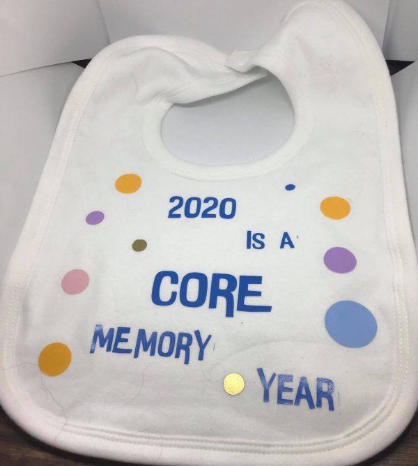 Novelty 2020 Core Memory Year Bib