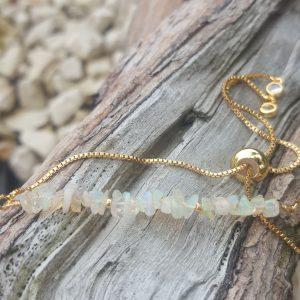 Opal Slider Bracelet