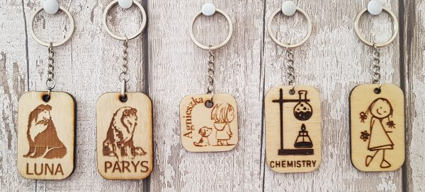 Personalised Wooden Keyring - 20200906 131348