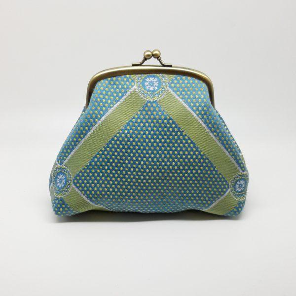 Green Blue Clutch Bag