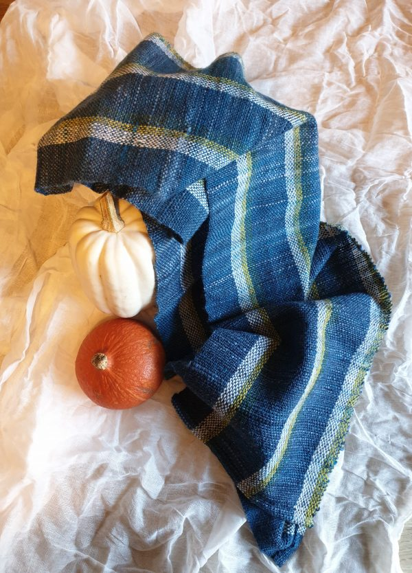Blue Eco scarf