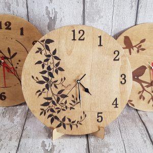Handmade Oak Clock