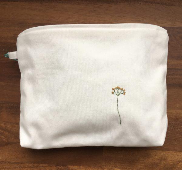 Cotton Zipped Pouch (white) - 326D6757 C160 45AC 9BB0 46DE96225118 1 201 a