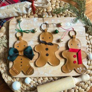 Gingerbread Man Keyring