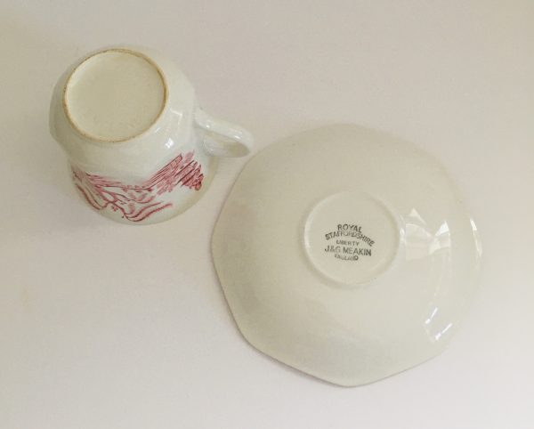 Teacup Candle - Pink Willow J&G Meakin - 3FA56FEE C9E5 4817 AEC3 E528B0BFBEE3