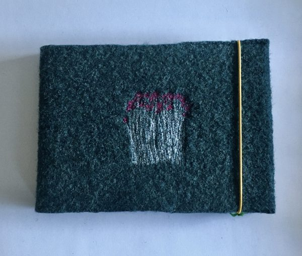 Flower Embroidered Covered Sketchbook - 4C0D6621 56E5 4211 9748 CD008C1AAAD5 1 201 a 1