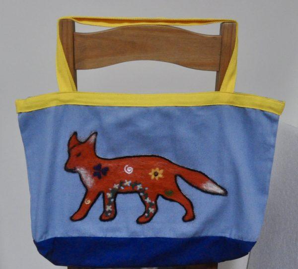Needlefelted Art Tote Bag Collection - 5987D360 0F41 49F4 8D8A 79E2D85EC368 1 201 a