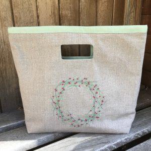 Linen Shopper Bag