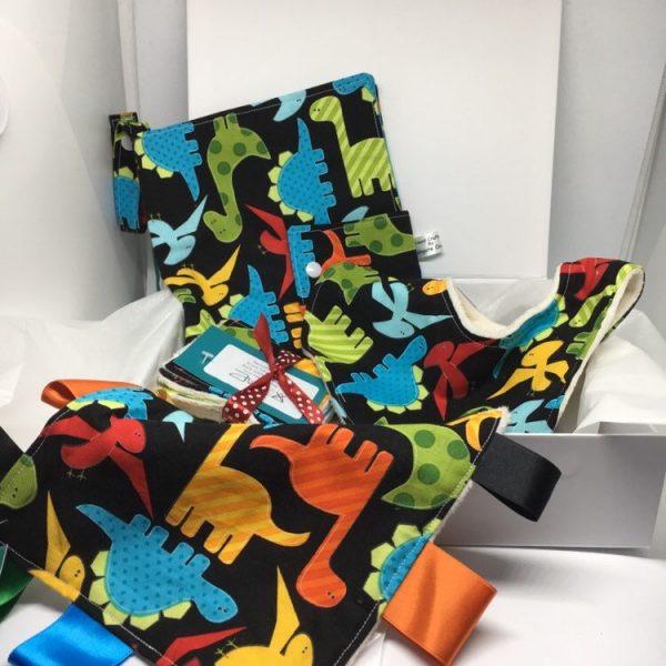 Dinsaur baby Gift Set