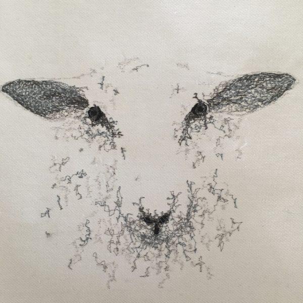 Embroidered Sheep Cushion - 684477DF 8EC5 4205 AB87 AAABB87D5105 1 201 a